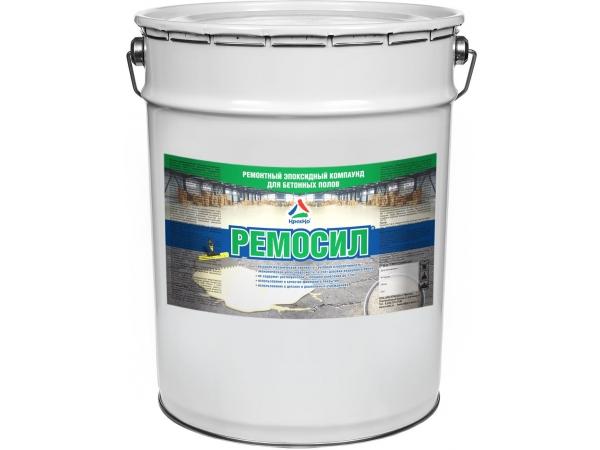 Ремосил - эпоксидный ремонтный компаунд для бетонного пола