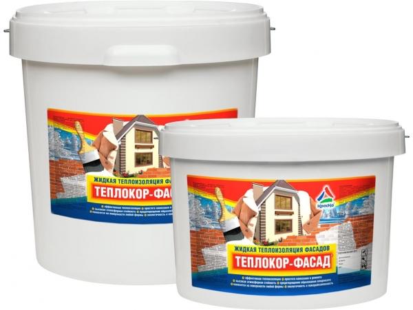 Жидкий утеплитель для стен и фасадов «Теплокор-Фасад»