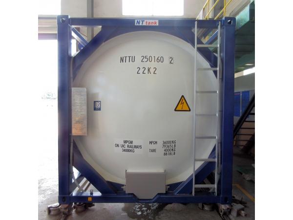 13 750$ Контейнер-цистерна 25 куб.м. тип  Т4 для перевозки ГСМ