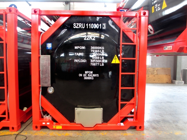 24 500$ Контейнер-цистерна 25 куб.м. тип  Т11 с утеплителем