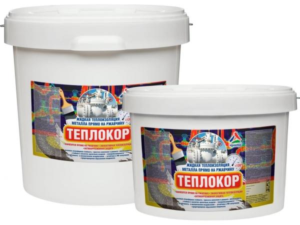 Жидкая теплоизоляция металла «Теплокор»