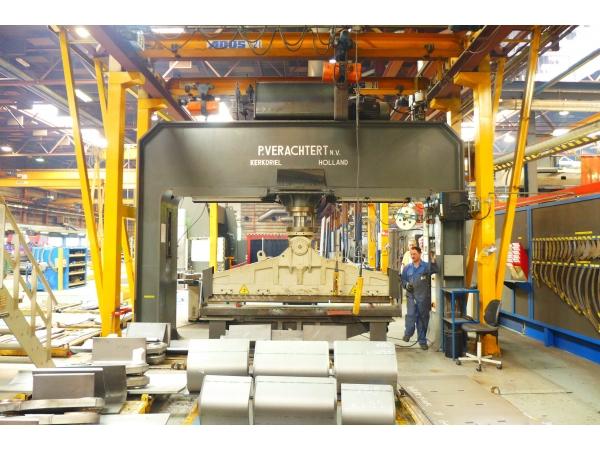 Пресс гидравлический Verachert 200 тонн правильно-запрессовочный 3424