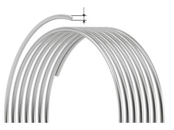 Проволока стальная вязальная 1.2 светлая