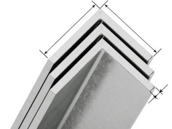 Уголок алюминиевый 40х40х3,0