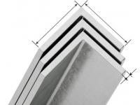 Уголок алюминиевый 80х80х3,0