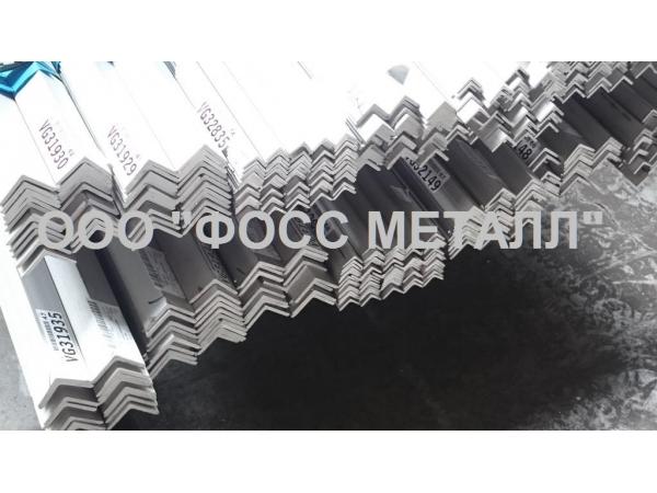 Уголок нержавеющий г/к равнополочный AISI 316L - в Подольске