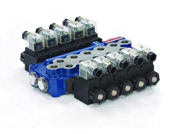 Гидрораспределитель MB-3/5S-4/18ES3/G-3/M3-24VDC