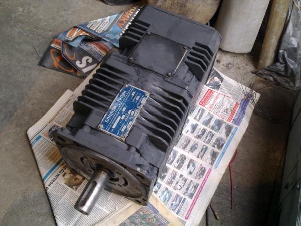 Двигатель постоянного тока 21МВН 21Нм. (Болгария)