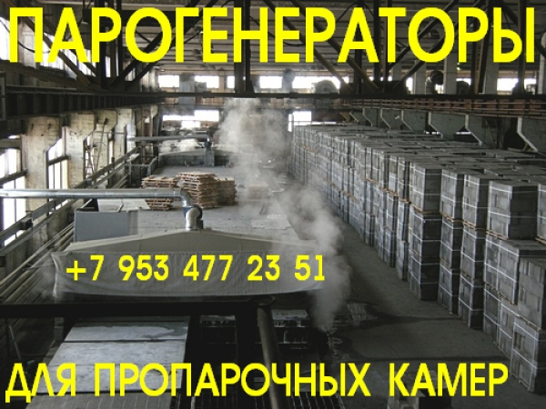 Промышленный парогенератор купить