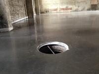 Промышленный бетонный пол с топпингом