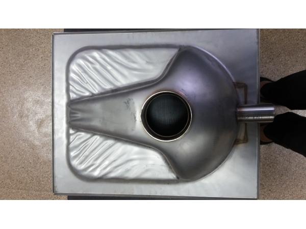Чаша Генуя из нержавейки 1 НСТ (Нерсант)-14000.00 руб.