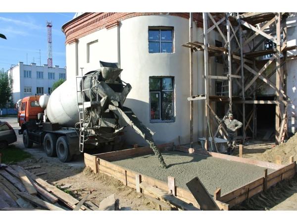 Бетон товарный и раствор строительный