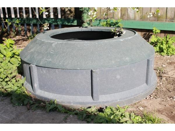 Конус большого полимерпесчаного колодца