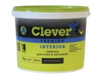 CLEVER INTERIOR  Краска акриловая для стен и потолков Премиум класса.