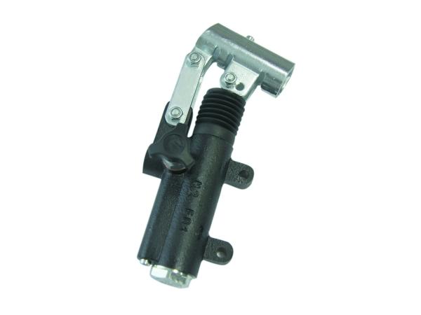 Насос ручной 50см3 HP-50S/РМ-50Р (на лапах, с вентилем, с рукояткой)