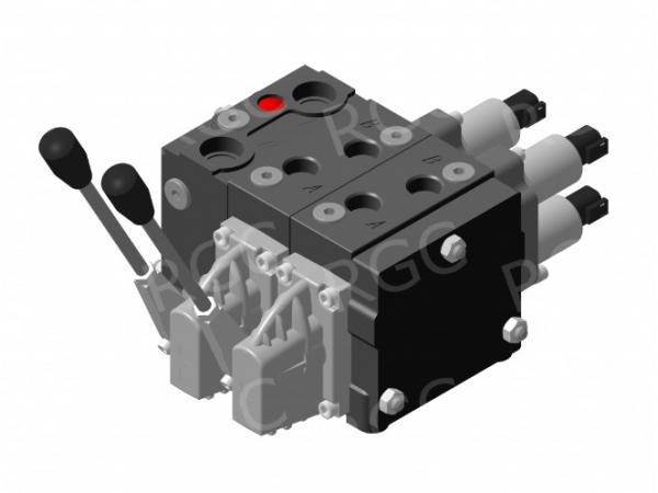Гидрораспределитель пропорциональный PV-4/2S/2 x P0102/2U-01130 LM EPV