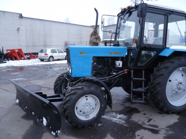Отвал снежный ОС-2,4 для трактора МТЗ-82.1