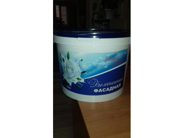 ВД Краска Белая Линия фасадная 13 кг