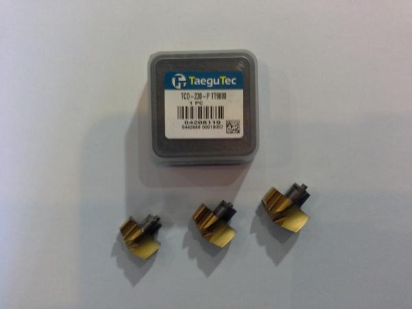 Продадим новые головки сменные т/с TaeguTec тип TCD.