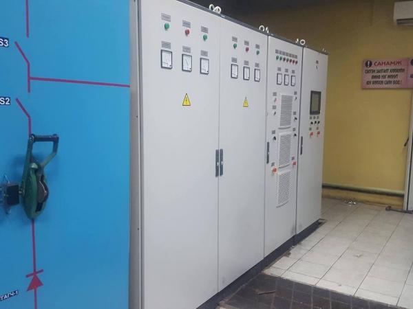 Щит ввода (Автоматика для электролизеров и электрохим. технологий)