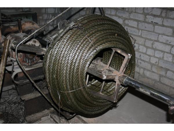 Канаты стальные лифтовые,грузолюдские,грузовые,отмот от 1 п/м