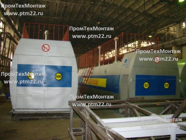 Блочные АЗС, мини АЗС, резервуары для хранения нефтепродуктов