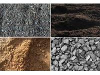 Песок, щебень, гравий, ПГС, отсев, плитняк