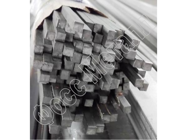 Квадрат нержавеющий холоднотянутый  калиброванный AISI 304  5х5 мм
