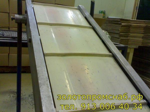 пластиковая  конвейерная лента  из ПВХ для  пищевой и сельхозотрасли