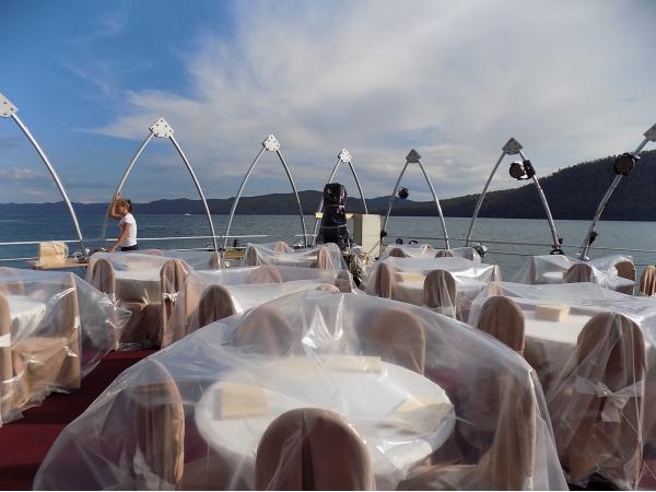 Понтон для плавучего ресторана пр-239
