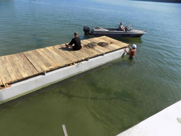 Причалы для лодок