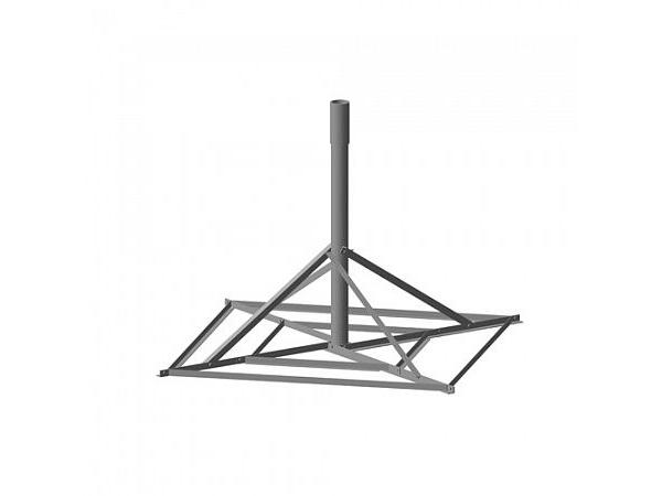 Основание для крепления антенны 1,8 м на плоской поверхности