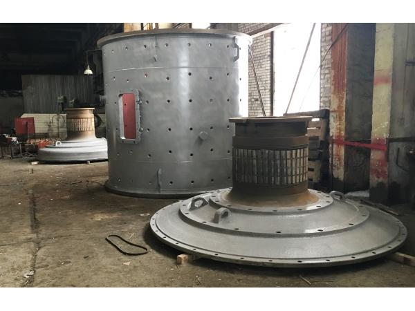 крышка загрузочная мельницы мшр 3600х4000