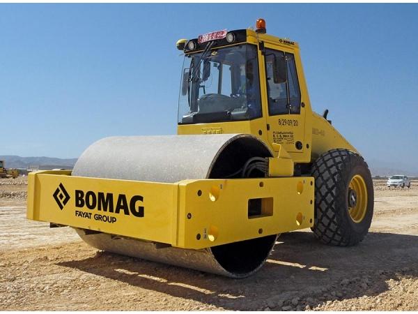 Грунтовый виброкаток «BOMAG BW216 D-40»