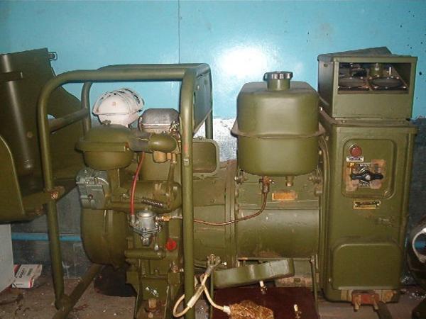 Генератор бензиновый АБ-4Т230 (мощность 4кВт) с армейского хранения