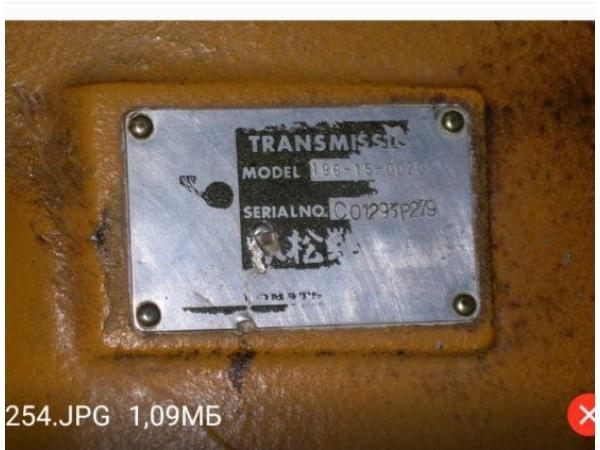 Трансмиссия Komatsu D355C-3, 196-15-00200, новая,TRANSMISSION TORQFLOW