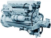 Судовой дизельный генератор мощностью 100кВт 7Д6, 7Д6-150, 7Д6-150АФ
