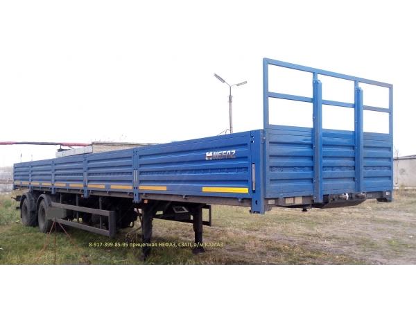 Бортовой полуприцеп НЕФАЗ-9334, СЗАП-93271 для КАМАЗ-65116, 65206