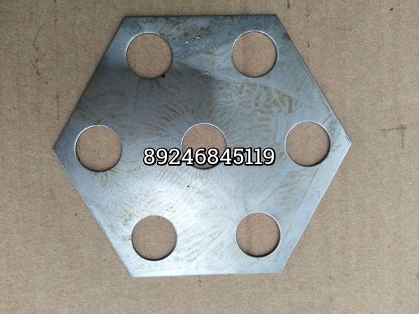 Шайба балансира 6-угольная 7 отверстий Howo 199014520265