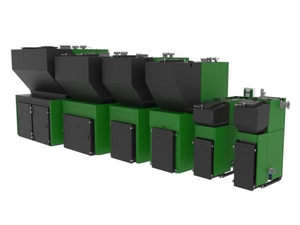 Автоматические твердотопливные котлы Лугатерм на антраците