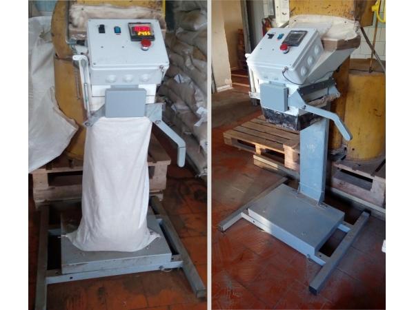 Дозатор сыпучих компонентов в мешки ДСКМ-50