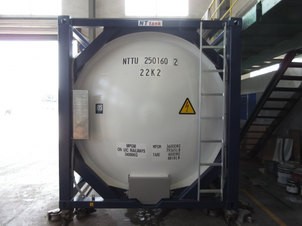 Танк-контейнер 25м3 тип Т4, для перевозки и хранения нефтепродуктов
