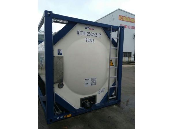 Танк-контейнер 25м3 тип Т11, с термоизоляцией и пароподогревом