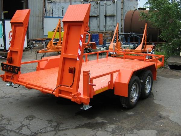 Автомобильный прицеп 898114 для перевозки спец техники