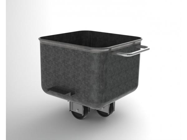 Тележка-чан «чебурашка» 200 литров