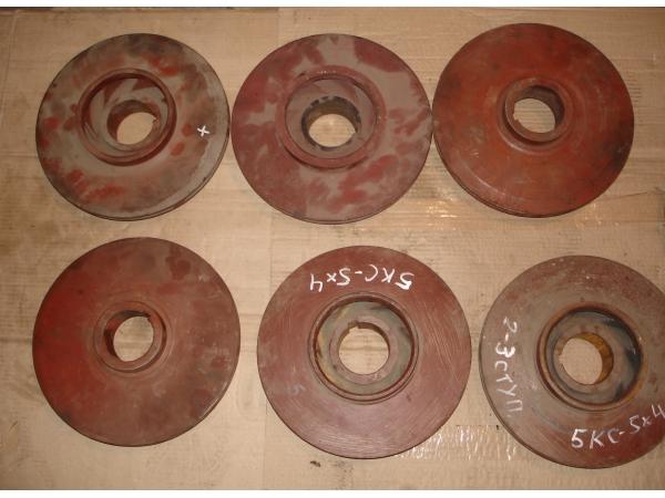 Валы, колеса к насосам  4НК-5х1, 5НК-5х1, 5Н-5х2, 5КС5