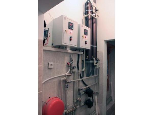 Котел отопление электрический индукционный
