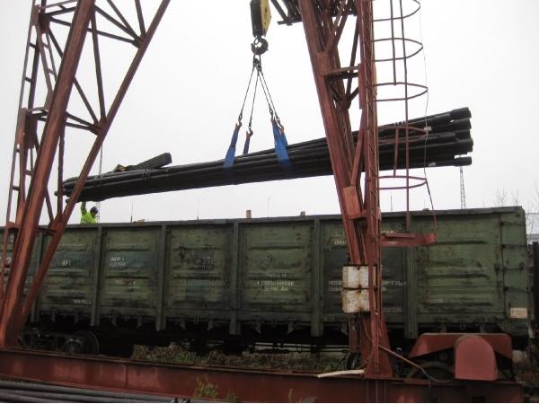 Приём и отправка грузов по ж. д. в Крыму.