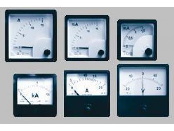Амперметр, вольтметр, частотомер, ваттметр, варметр, фазометр