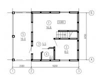 Готовые проекты домов, коттеджей, дачных и садовых домиков из сип